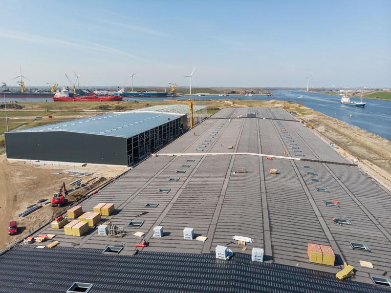 Falcon Terminal, WFD, Dakbedekking, Andijk, Manshanden, Een Dijk Van Een Dak, Amsterdam